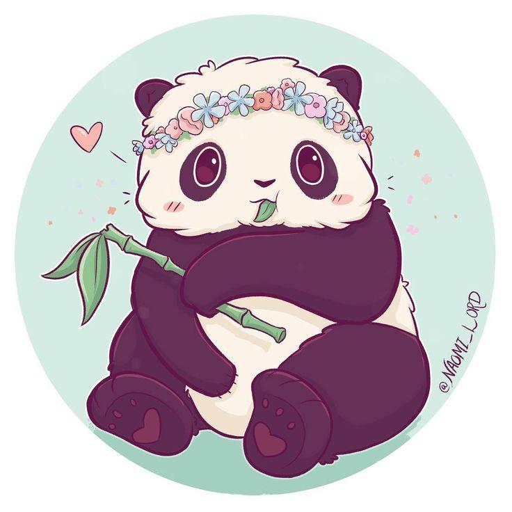 Картинки панды анимэ