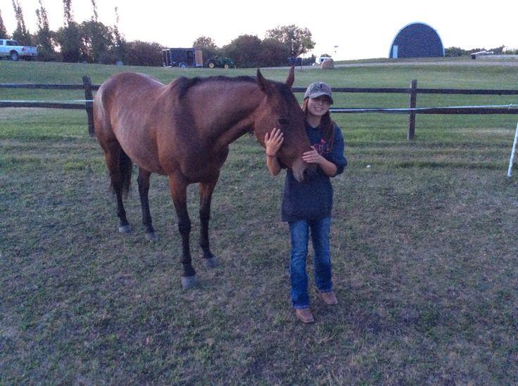 MY NEW HORSE RADAR!!