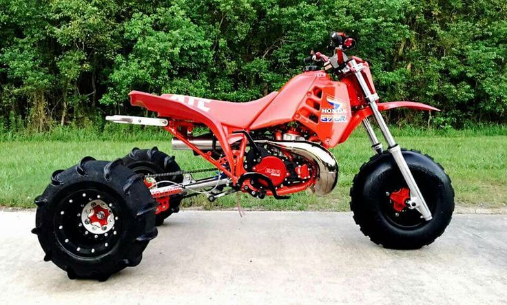 Badass custom Honda atc build