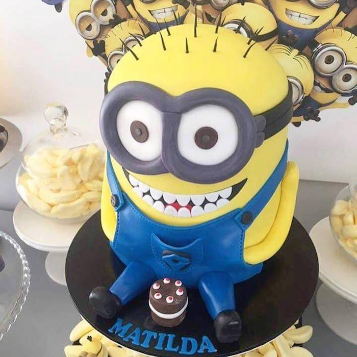 17 Best Ideas About Minions Birthday Cakes On Pinterest