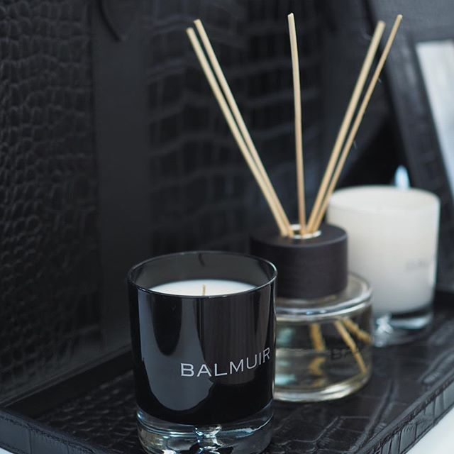 Finish your bedroom decoration with scented candles and room diffusers. #balmuir…