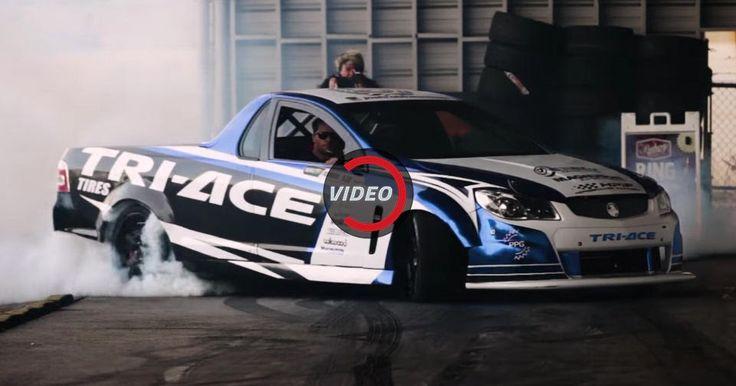 This 1,000 HP Formula Drift Holden Ute Is Savage #Drifting #Formula_Drift