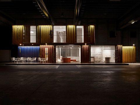 Container habitat: architettura sostenibile e riuso di stutture industriali - Interni