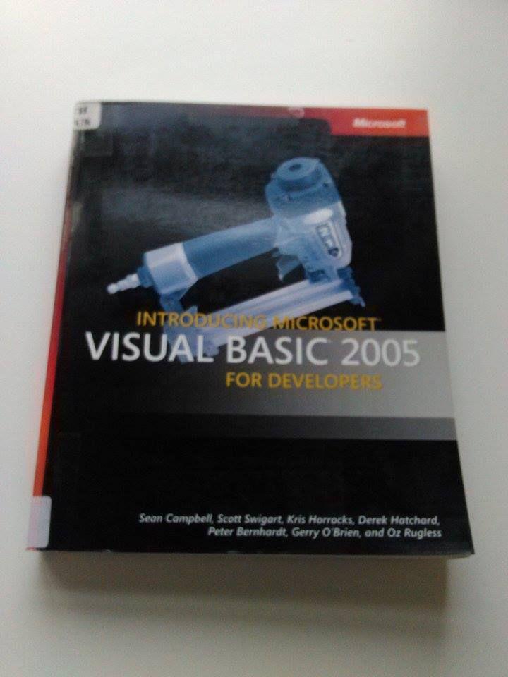 visual basics 2005 book