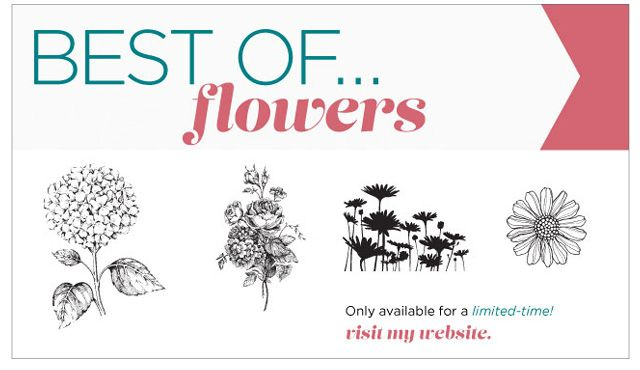 Best of...Flowers, now in the Australian Market.  New Best Of set each month.  only $25.95  Order Online http://www3.stampinup.com/ECWeb/ProductDetails.aspx?productID=133342