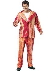 bacon suit adult costume this bacon suit adult costume features the suit jacket and the