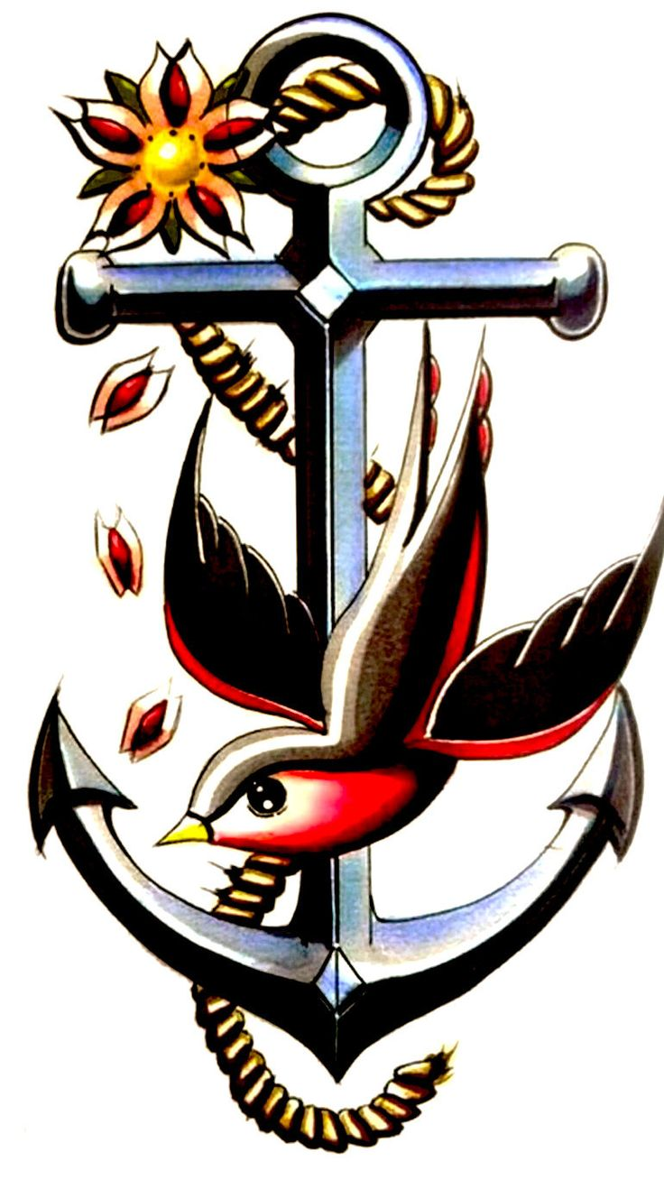 best nautical tattoos images on pinterest