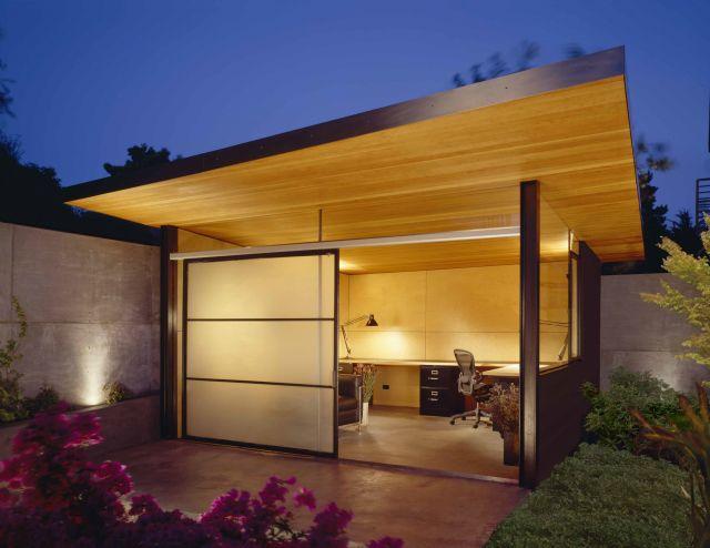 Best Shed Guest House Images On Pinterest Backyard Office - Modern house backyard
