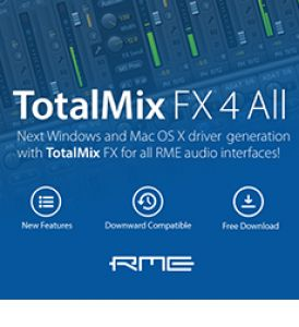 RME TotalMix FX  Bluesound