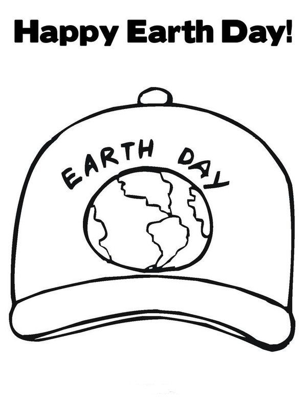 Earth Day Coloring Pages Picture 4