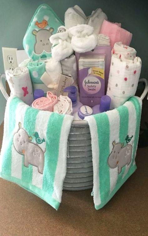 DIY Geschenkideen – einfach und billig Baby-Dusche Geschenke zu machen #b …