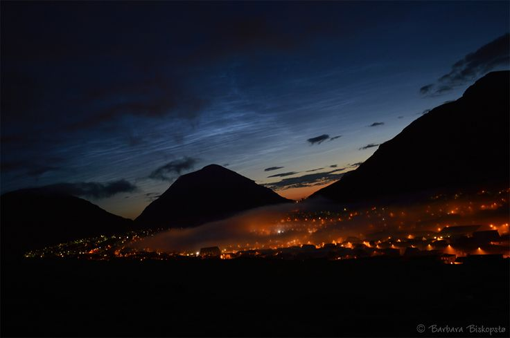 Summernight in Klaksvik, Faroe Islands