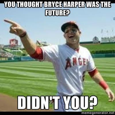 Baseball Mike Trout Meme