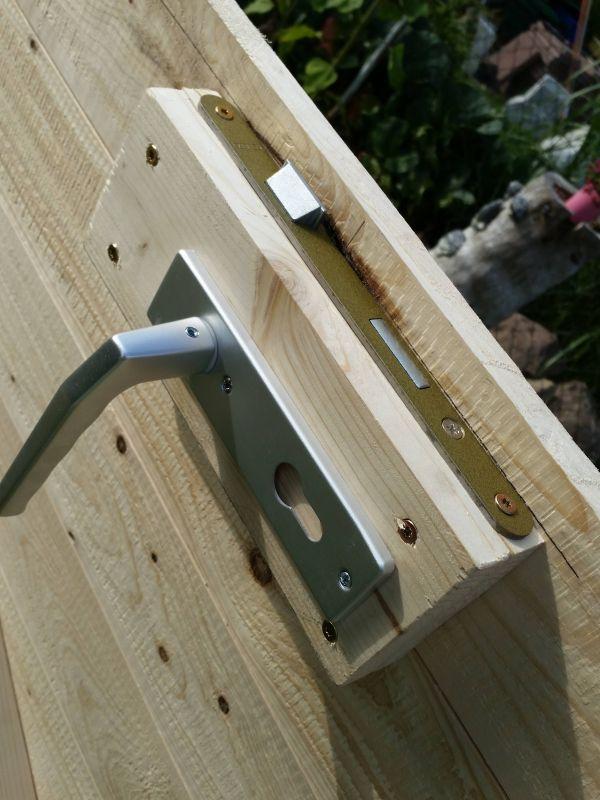 Holztur Mit Rahmen Fur S Stallgebaude Bauanleitung Zum