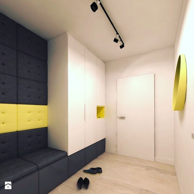 Wystrój wnętrz - Hol / przedpokój - pomysły na aranżacje. Projekty, które stanowią prawdziwe inspiracje dla każdego, dla kogo liczy się dobry design, oryginalny styl i nieprzeciętne rozwiązania w nowoczesnym projektowaniu i dekorowaniu wnętrz. Obejrzyj zdjęcia! - strona: 3