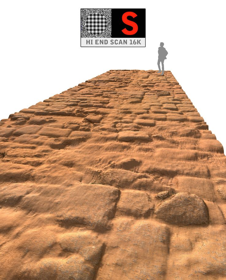 acient pavement 16k 3d model