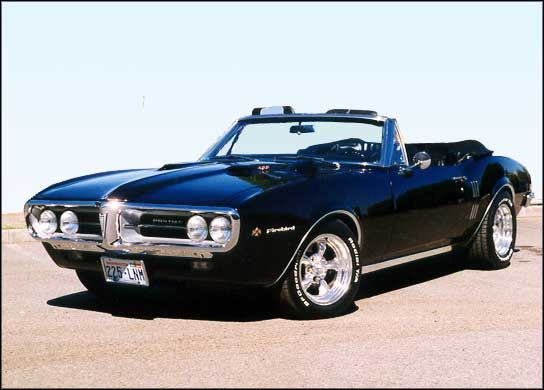 The Pontiac Firebird came out in 1967, the same year as the Chevy Camaro.