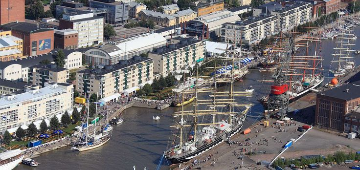 The majestic beauties of the sea are once again seen in Turku, when the tall ships sail into the city in July. An international atmosphere, high class concerts and a rich maritime programme are eagerly anticipated.