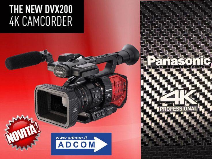 Panasonic AG-DVX200 Cinecorder con sensore 4K avanzato di grandi dimensioni Micro 4:3, dotato di un eccezionale obiettivo zoom 13x 4K LEICA DICOMAR, che consente di lavorare anche a ridotta profondità di campo tipica delle produzioni cinematografiche. Si distingue per l'attraente effetto Bokeh e la gamma dinamica di ben 12 stop consentita dall'elaborazione L V-Log in stile VariCam . Info : http://www.adcom.it/it/ripresa-registrazione/camcorders-4k-4k-ready/micro-4-3