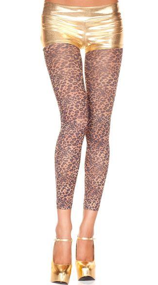 #musiclegs: #leggings leopardati