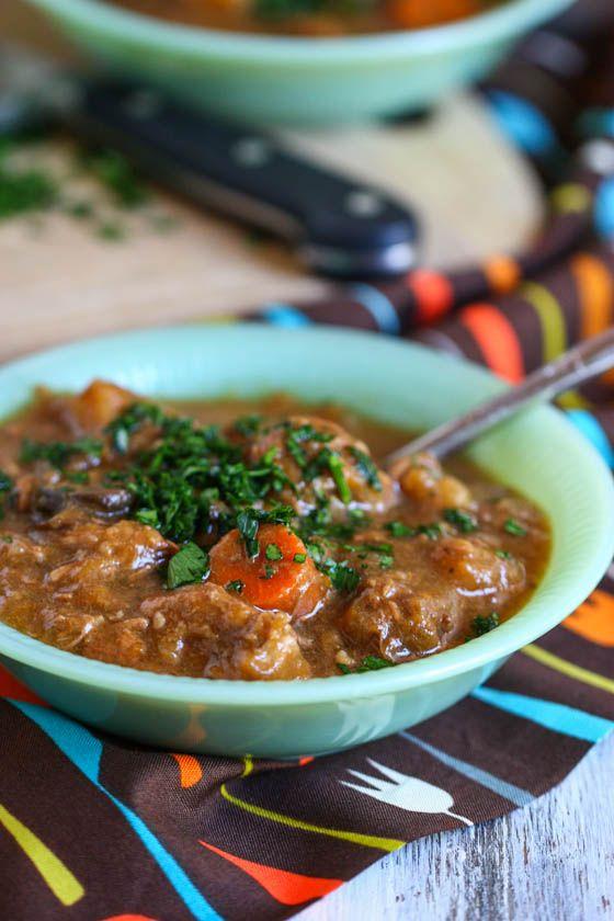 Crock Pot Beef And Butternut Squash Stew Pumpkins