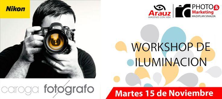 Workshop de iluminación con Caroga Photographer. El 15 de Noviembre del 2016 en Mazatlán; en el The Palms Resort of Mazatlan