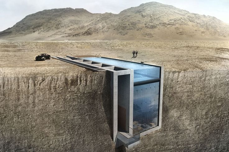 """Villa """"Casa Brutale"""" wird direkt in den Fels gehauen, an der ägäischen Küste"""