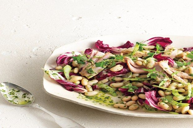 White Bean and Tuna Salad with Radicchio | Recipe | White Beans, Tuna ...