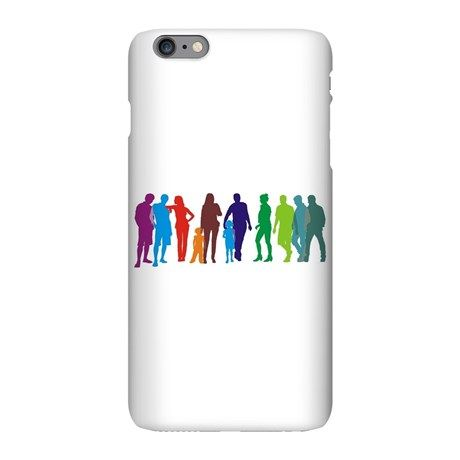 People of group iPhone Plus 6 Slim Case on CafePress.com