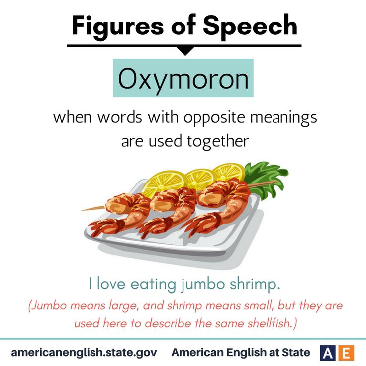Figures of Speech: Oxymoron