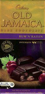 Cadbury Old Jamaica Chocolate Block 200g.