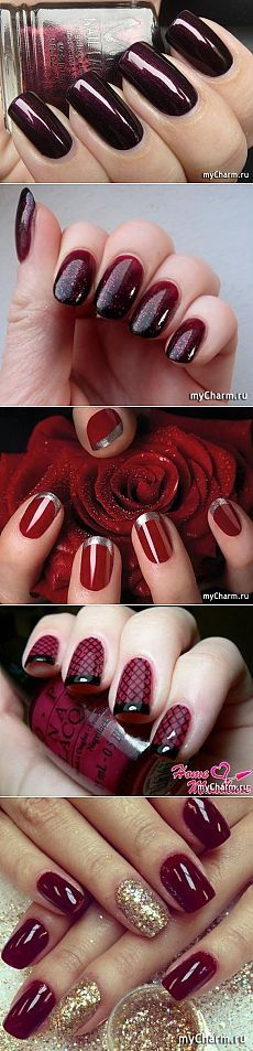 Модные цвета лака для ногтей, Осень-Зима 2015-2016: Группа Маникюр, педикюр