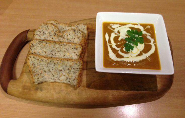 Roasted Pumpkin Soup - Food That Serves