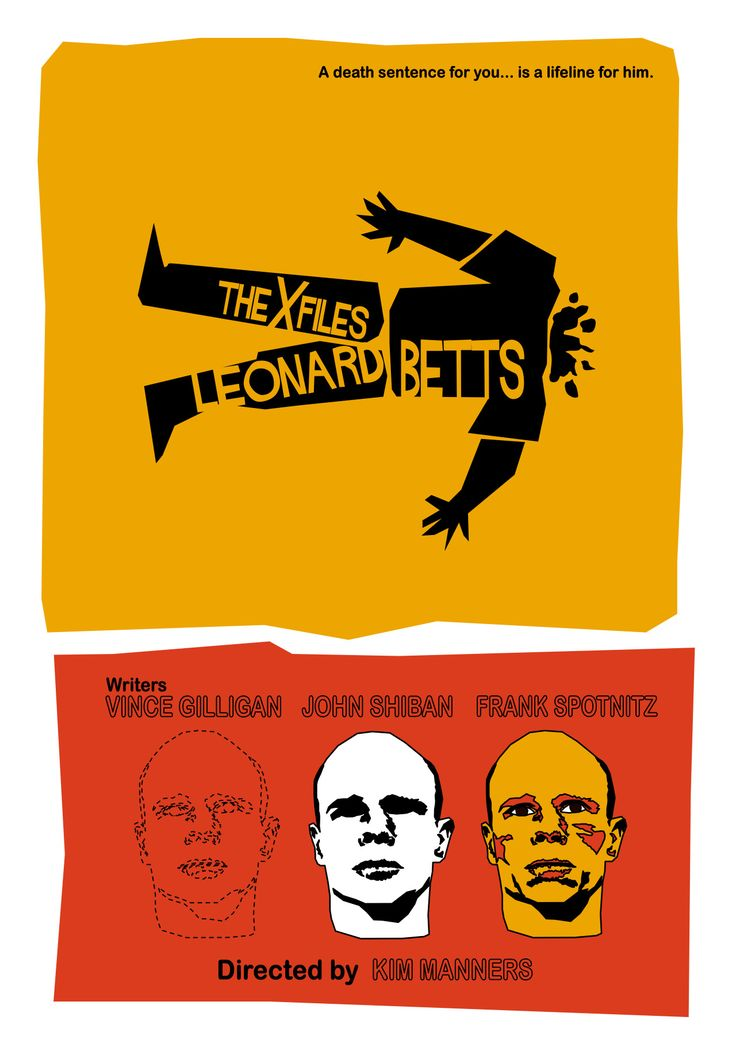 Leonard Betts - Episode 85. Another episode gets the Saul Bass treatment, this time with a tribute to Anatomy of a Murder. I thought it was fitting for an episode in which anatomy plays such a big part.