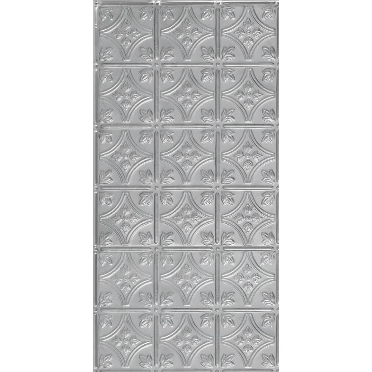 Stainless Steel Kitchen Backsplash Panels With Swirls