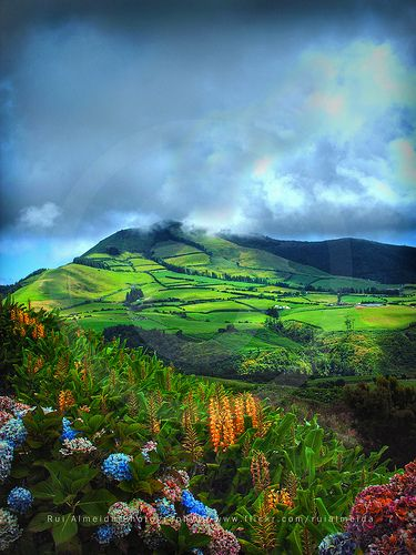 São Miguel Island, Azores, Portugal - WOW! Breathtaking. Portugal is definitely number