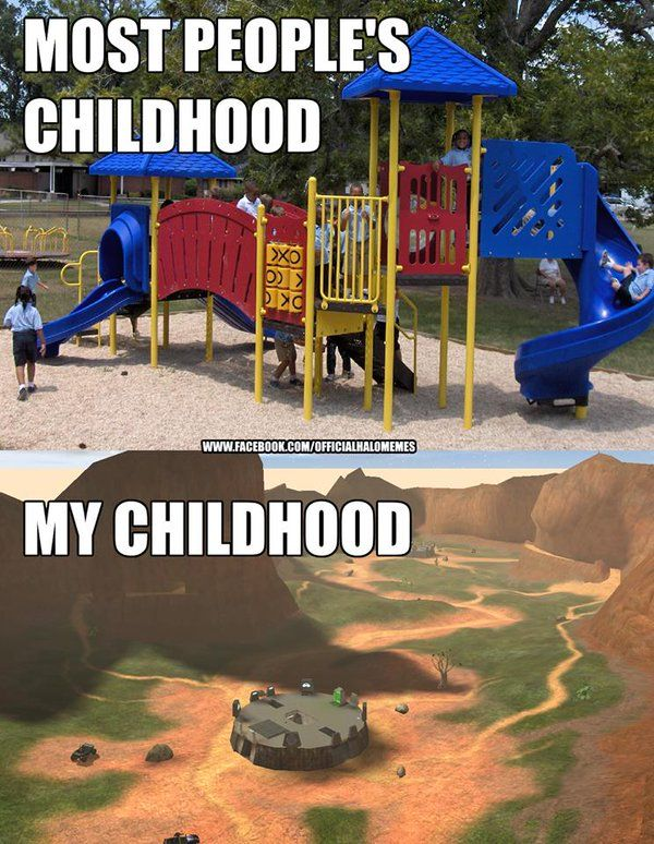 Don't get me wrong, I had plenty of time on the playground, but that right there was one of my favorite maps.