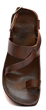 Zoot24 Brown Men Sandals - N1YANK