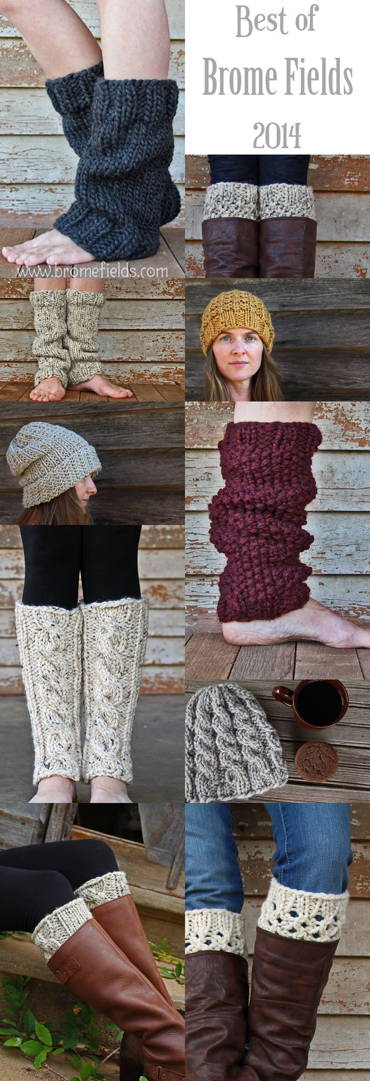 Top 10 Knitting Patterns for 2014 by Brome Fields