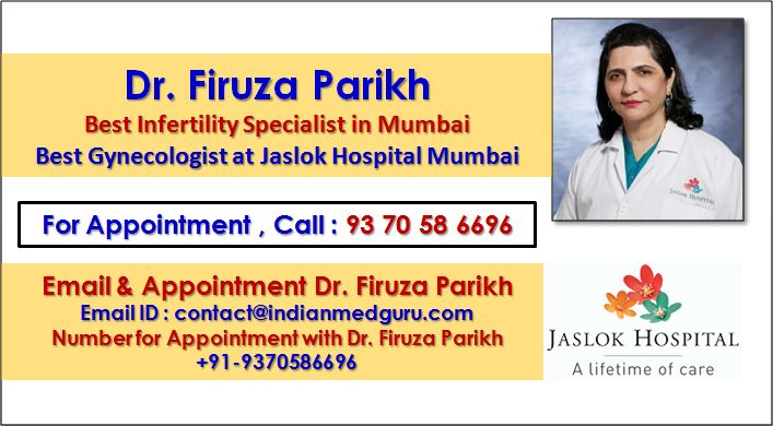 Reliable IVF Treatment in India by Dr. Firuza Parikh