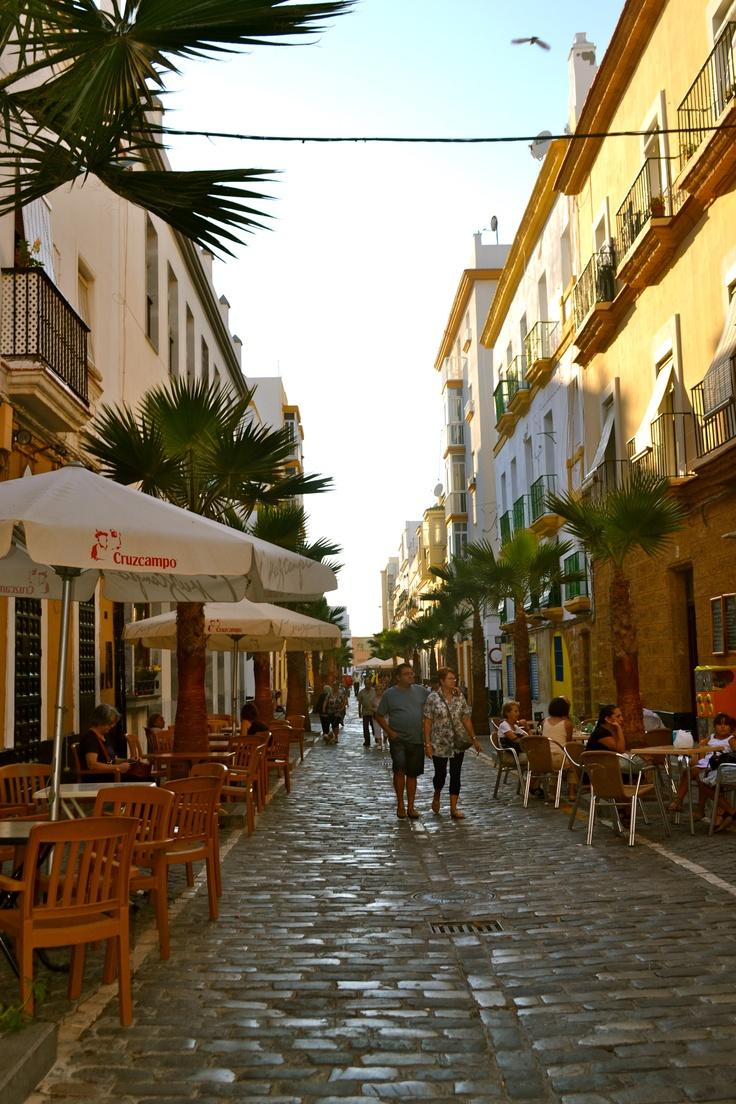 :) The street