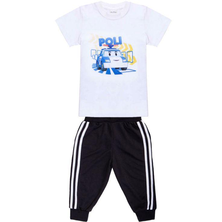 $8.09 (Buy here: https://alitems.com/g/1e8d114494ebda23ff8b16525dc3e8/?i=5&ulp=https%3A%2F%2Fwww.aliexpress.com%2Fitem%2F2017-new-arrival-cartoon-T-shirt-set-boys-and-girls-t-shirt-POLI-ROBOCAR-Cotton-Kids%2F32795996669.html ) 2017 new arrival cartoon T shirt set boys and girls t-shirt POLI ROBOCAR Cotton Kids summer T-shirt Kids tops+pants for just $8.09