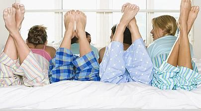 Hen weekends: The ultimate pyjama party for a sophisticated hen party idea