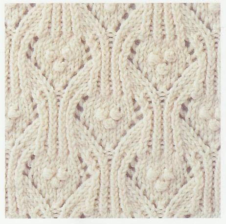 Lace Knitting Stitch #53@Af's 26/2/13
