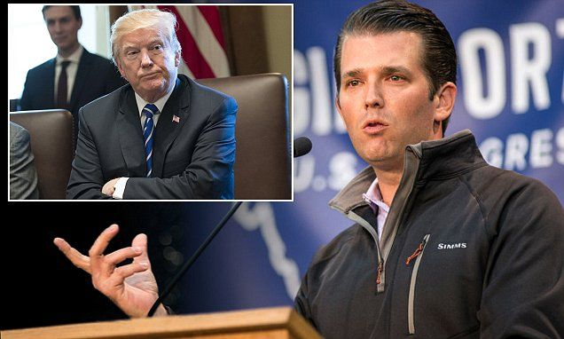 Trump campaign stops paying Donald Jr's legal bills | Daily Mail Online