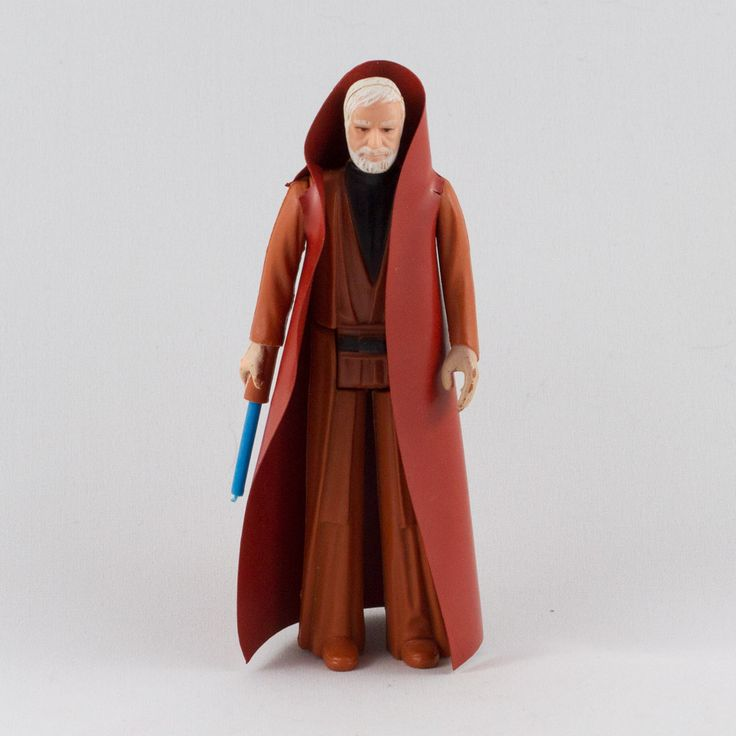 Ben (Obi-Wan) Kenobi, This vintage Kenner Star Wars Ben (Obi-Wan) Kenobi action figure is in great condition and is an excellent addition to any collection. The limbs are very firm, allowing a wide range of poses and the paint finishing is crisp and sharp.