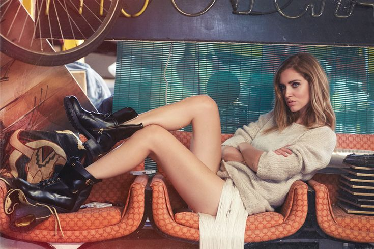 Chiara Ferragni f/w 2014 video
