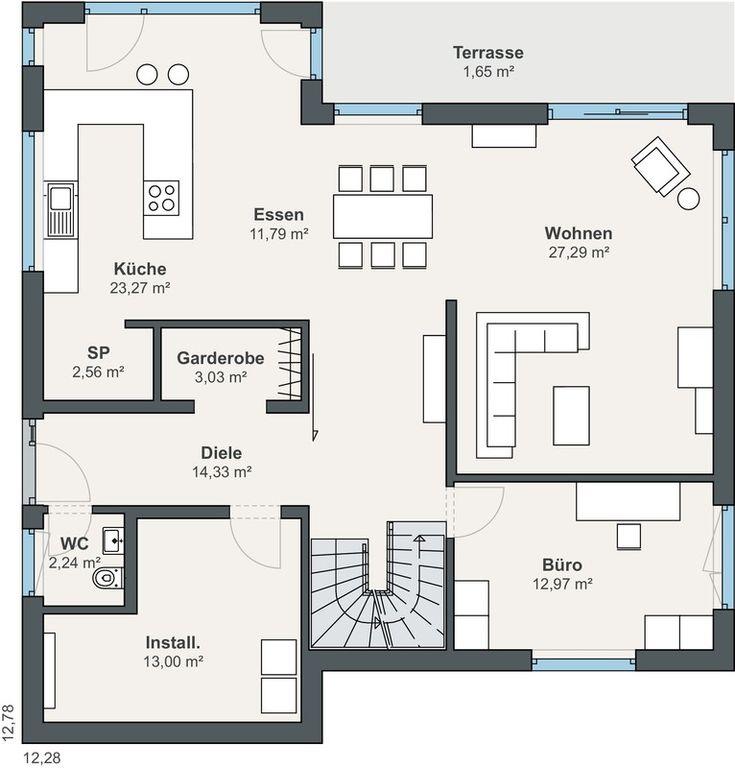 La maison des clients WeberHaus de la série generation5.5 – une merveille énergétique avec beaucoup d'espace