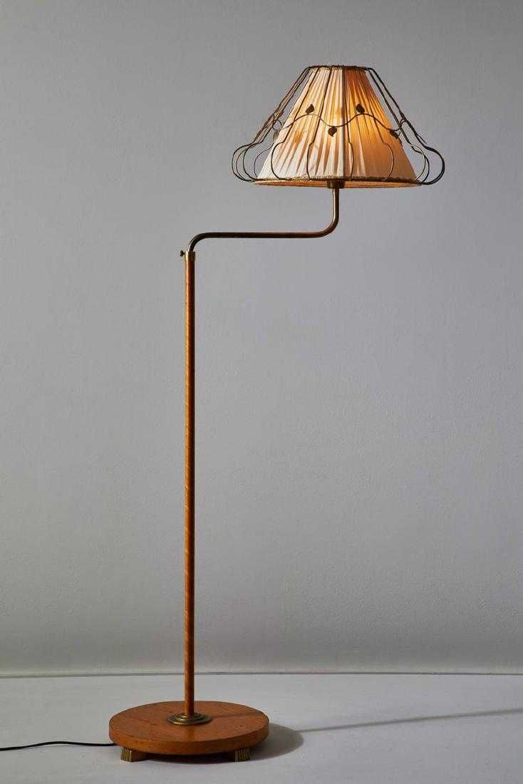 Rare Swedish Floor Lamp 5 Lamp Floor Lamp Wooden Floor Lamps