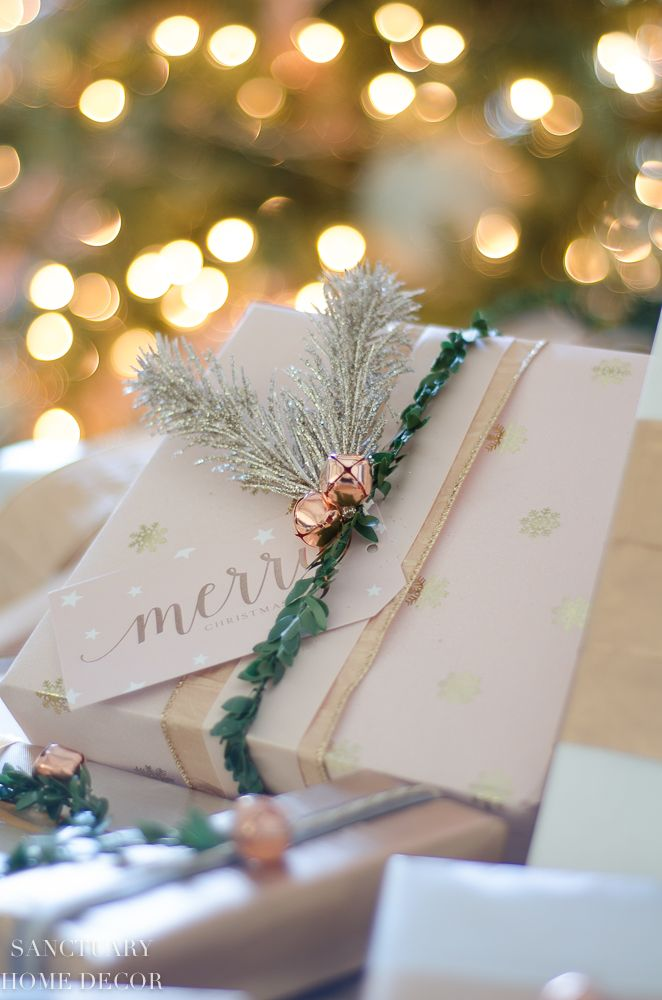 Easy and Affordable Christmas Gift Wrapping Inspiration